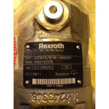 R902193379 A2FM16/61W-VBB040 Rexroth Axial Piston Pump/motor