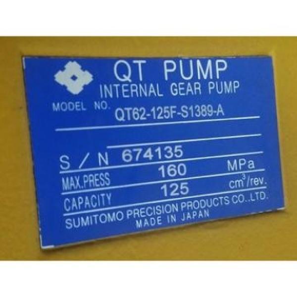 CQT63-80FV-S1376-A Japan Sumitomo Gear Pump #2 image