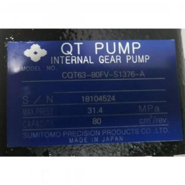 CQT63-80FV-S1376-A Japan Sumitomo Gear Pump #5 image