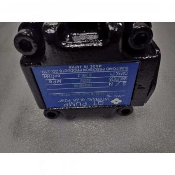 QT2323-6.3-6.3MN-S1162-A Japan Sumitomo QT Series Double Gear Pump #1 image